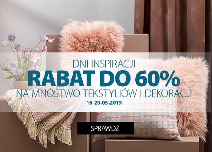 Tekstylia I Dekoracje Jysk Do 60 Centrum Handlowe
